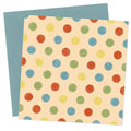 Happy Dots Digital Scrapbook Paper Pack