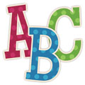 Spotted Fun Digital Scrapbooking Alphabet