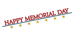 Happy Memorial Day Page Title